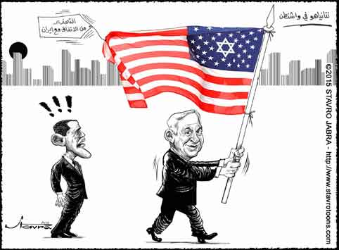 stavro- Netanyahu � Washington contre l'accord sur le nucl�aire iranien.