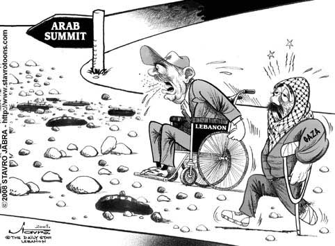 stavro 030408 s - The road for Arab summit.jpg