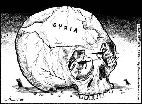 stavro-Syria crushed by war two years into revolt
