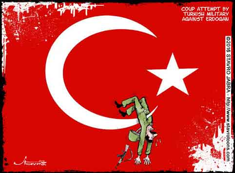 stavro-Coup attempt by Turkish military against Erdogan.