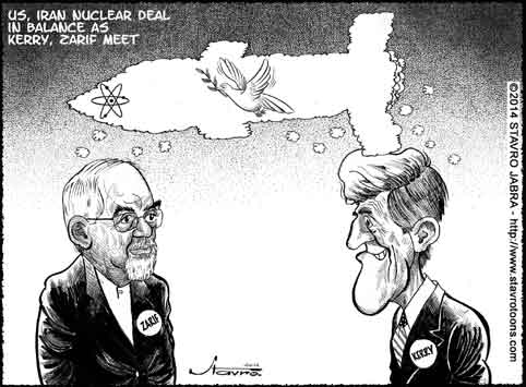 stavro-US, Iran nuclear deal in balance as Kerry, Zarif meet