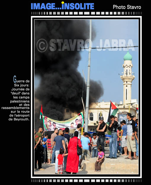 photo stavro - Commémoration de la Naksa au Liban